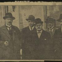 [Photo de cinq hommes dont José Mora Guarnido] | Shelfnum : JMG-CA1-1926-08-30