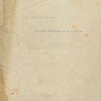 La escribana [C1] | Shelfnum : JMG-AF2-10-C1 | Page : 1 | Content : facsimile