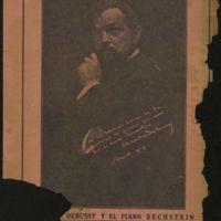 Debussy y el piano Bechstein | Shelfnum : JMG-CA1-1939-00-00b | Content : facsimile
