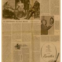 El centenario de Fray Mocho | Shelfnum : JMG-CA1-1958-08-16 | Page : 1 | Content : facsimile