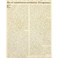 Antonio Pena – En el ambiente artístico uruguayo | Shelfnum : JMG-AA1-1931-09-00 | Page : 1 | Content : facsimile