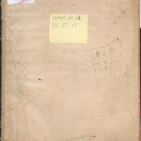 [Carnet n°11] | Shelfnum : JMG-AI-11 | Page : 1 | Content : facsimile