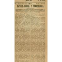 Batlle – Figura y transfigura | Shelfnum : JMG-CA1-1931-11-02 | Page : 1 | Content : facsimile