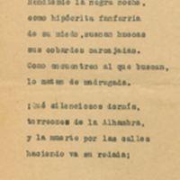 La muerte de Federico García Lorca | Shelfnum : JMG-AG-01-F1 | Page : 1 | Content : facsimile
