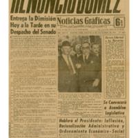 Noticias Gráficas | Shelfnum : JMG-CA2-1958-11-18 | Page : 1 | Content : facsimile