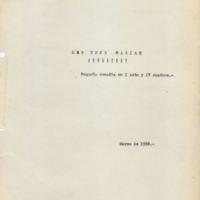 Las tres Marías [C1] | Shelfnum : JMG-AF2-05-C1 | Page : 1 | Content : facsimile