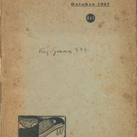 Ensayos | Shelfnum : JMG-AA2-1937-10-00 | Page : 1 | Content : facsimile