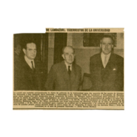 El Doctor Eduardo Ortiz de Landázuri, Vicerrector de la Universidad   Shelfnum : JMG-CA1-1958-00-00   Content : facsimile