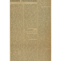 Elecciones trascendentales | Shelfnum : JMG-AA1-1925-03-19 | Content : facsimile