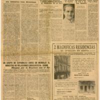 El Tiempo 1942-01-15 | Shelfnum : JMG-AA1-1942-01-15 | Page : 1 | Content : facsimile