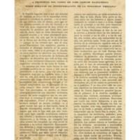 Dos tipos de colonizadores, dos civilizaciones   Shelfnum : JMG-AA1-1929-06-00   Page : 1   Content : facsimile