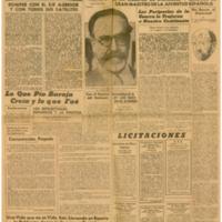 El Tiempo 1942-01-22 | Shelfnum : JMG-AA1-1942-01-22 | Page : 1 | Content : facsimile