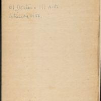 [Carnet n°18] | Shelfnum : JMG-AI-18 | Page : 1 | Content : facsimile