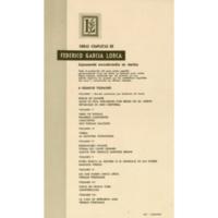 Obras completas de Federico García Lorca I | Shelfnum : JMG-CB4-06 | Content : facsimile