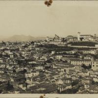"[""Grenade. Quartier de l'Albaicín vu de l'Alhambra ""] | Shelfnum : JMG-DC-337 | Content : facsimile"