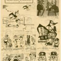 La caricatura y la guerra | Shelfnum : JMG-CA1-1939-00-00c | Page : 1 | Content : facsimile