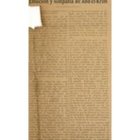 Emoción y simpatía de Abd-el-Krim   Shelfnum : JMG-AA1-1929-00-00e   Page : 1   Content : facsimile