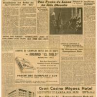 El Tiempo 1942-01-31 | Shelfnum : JMG-AA1-1942-01-31 | Page : 1 | Content : facsimile