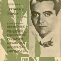 Obras completas de Federico García Lorca II | Shelfnum : JMG-CB4-07 | Page : 1 | Content : facsimile